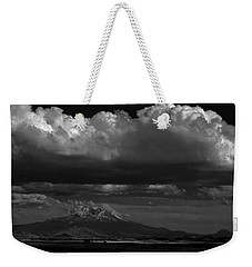 Shasta On July 17 Weekender Tote Bag by John Norman Stewart
