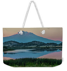 Shasta Reflected Weekender Tote Bag by Nancy Marie Ricketts