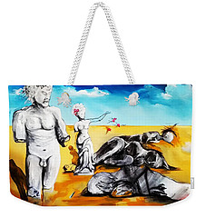 Shattered Limbs To Shattered Souls Weekender Tote Bag