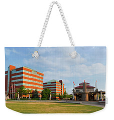 Weekender Tote Bag featuring the photograph Shattuck Park by Joel Witmeyer