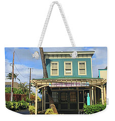 Weekender Tote Bag featuring the photograph Shave Ice by DJ Florek