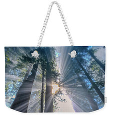Weekender Tote Bag featuring the photograph Shazam by Patricia Davidson
