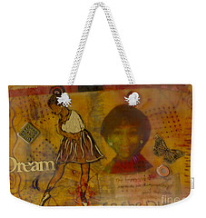 She Believed She Could Weekender Tote Bag by Angela L Walker