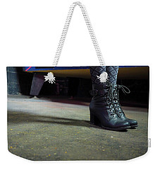 She Came To Play Weekender Tote Bag by Lora Lee Chapman