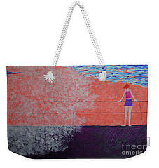 The Beach At Sunset Weekender Tote Bag