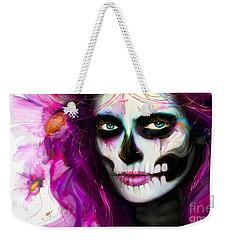 She, Dia De Los Muertos Weekender Tote Bag