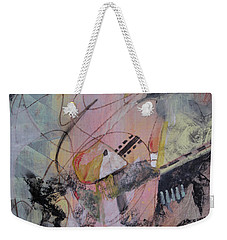 Weekender Tote Bag featuring the mixed media She Got Lost On Purpose by Robin Maria Pedrero