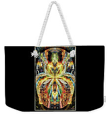 She Is A Mosaic Weekender Tote Bag by Paula Ayers