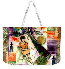 She Remained True Weekender Tote Bag by Angela L Walker