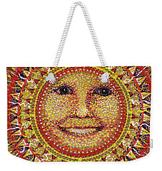 Weekender Tote Bag featuring the painting She Shines by Kym Nicolas