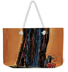 She Was Certain That No One Heard Her Scream Weekender Tote Bag