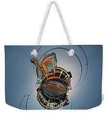 Shea's On Main Street Buffalo - Tiny Planet Weekender Tote Bag