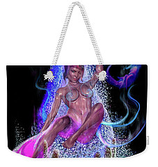 Shed Your Fins Weekender Tote Bag