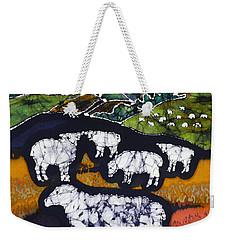 Sheep At Midnight Weekender Tote Bag