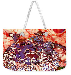 Sheep At Sunset Weekender Tote Bag
