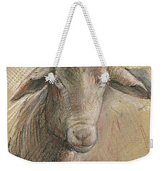 Sheep Head Weekender Tote Bag