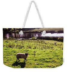 Sheep In Eniskillen Weekender Tote Bag