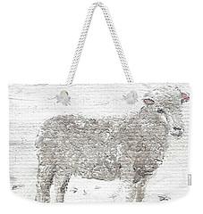 Sheep Weekender Tote Bag