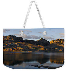 Sheep Mountain Sunrise - Panoramic-signed-12x55 Weekender Tote Bag