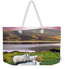 Sheep Of Donegal Weekender Tote Bag
