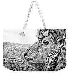 Sheep Profile - Patagonia Weekender Tote Bag by Stuart Litoff