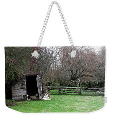 Sheep Shed Weekender Tote Bag