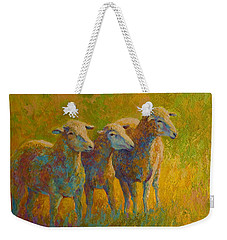 Sheep Trio Weekender Tote Bag