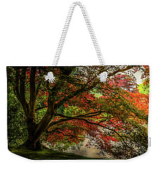 Weekender Tote Bag featuring the photograph Sheffield Park Gardens by Ryan Photography