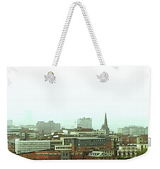 Weekender Tote Bag featuring the photograph Sheffield Skyline by Anne Kotan
