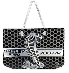 Shelby F150 Truck Emblem Weekender Tote Bag