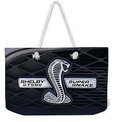 Shelby Gt 500 Super Snake Weekender Tote Bag