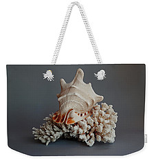 Shell And Coral Weekender Tote Bag
