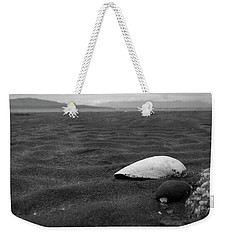 Shell And Sand Weekender Tote Bag