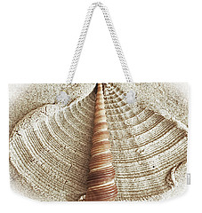 Shell In The Sand Weekender Tote Bag