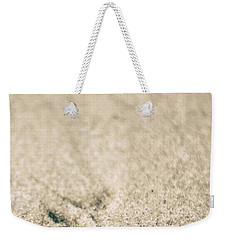 Weekender Tote Bag featuring the photograph Shell On Beach Alabama  by John McGraw