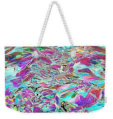 Shell Petals Weekender Tote Bag