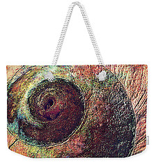 Weekender Tote Bag featuring the photograph Shelled by Lori Seaman