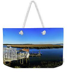 Shellman Bluff Weekender Tote Bag