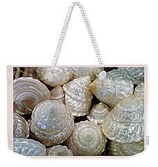 Shells - 4 Weekender Tote Bag by Carla Parris
