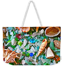 Shells And Glass Weekender Tote Bag