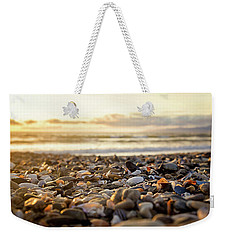 Shells At Sunset Weekender Tote Bag by April Reppucci