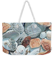 Shells Of The Puget Sound Weekender Tote Bag