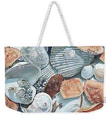 Shells Of The Puget Sound Weekender Tote Bag