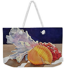 Shells On A Shelf Weekender Tote Bag