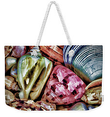 Shells Weekender Tote Bag by Ron Grafe