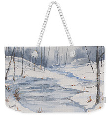 Shelly's Snow Weekender Tote Bag