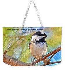 Shelter Among It's Branches Weekender Tote Bag