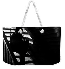 Weekender Tote Bag featuring the photograph Shelter by Eric Christopher Jackson