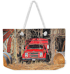 Shelter From The Weather Weekender Tote Bag