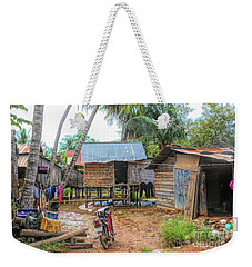 Shelter Home Cambodia Siem Reap I Weekender Tote Bag